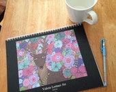 SALE!! 2016 Calendar Valerie Lorimer, Wall Calendar, Whimsical, Inspirational
