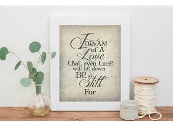 Jane Austen Persuasion 8x10 Art Quote , Literary Quote, Typography Print, Austen Quote