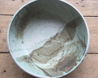 Large Serving Bowl in Mint Green (Listing for Hannah and Simon's Wedding Registry)