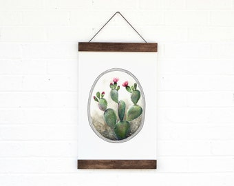 Cactus- Hanging Archival Poster