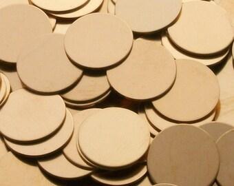 Bronze Disc - 16 Gauge, stamping blanks, metal blanks, Bopper, bronze round blanks, metal rounds, bronze disks, stamping discs, Bopper
