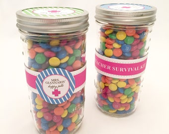 DIGITAL Teacher Appreciation Gift - Survival Kit with Happy Pills- Perfect for end of year or teacher appreciation week gifts