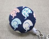 Little Ellies Badge Reel | Badge Holder, Retractable Badge Holder, Nurse Badge Reel, ID Badge Holder, Badge Clip, Cute Badge Reel