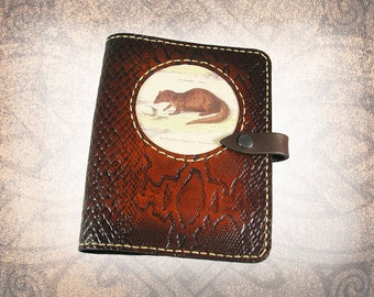 Leather Journal Cover - Little Thief