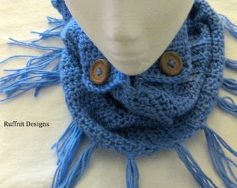 Ladies Infinity Cowl Scarf New