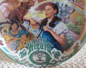 RESERVED For magswheels2002 ONLY!  Wizard of Oz Plate with Music Box and Plate Stand Over The Rainbow Numbered Plate Knowles Plate Dorothy