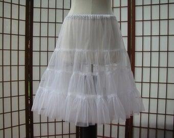 Petticoat White Chiffon -- Custom Order