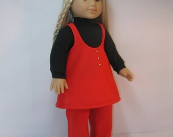1974-1149 Jumper Outfit for 18 Inch Doll