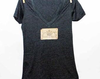 I Need A Nap Women's Tshirt, Print Tshirt, Vneck Tshirt, Appliqued Tshirt, Shabby Chic Tshirt, Graphic Tshirt, Vintage Style Tshirt