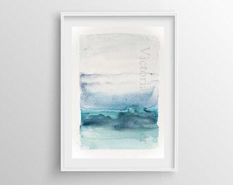 Abstract Painting Giclee Print nº 6, Fine Art Print, Watercolor print, Abstract art, Original Painting, Giclee art print, 8x12,12x16,16x24