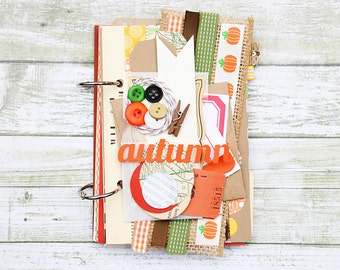 Autumn Stories Journal / Gratitude Journal