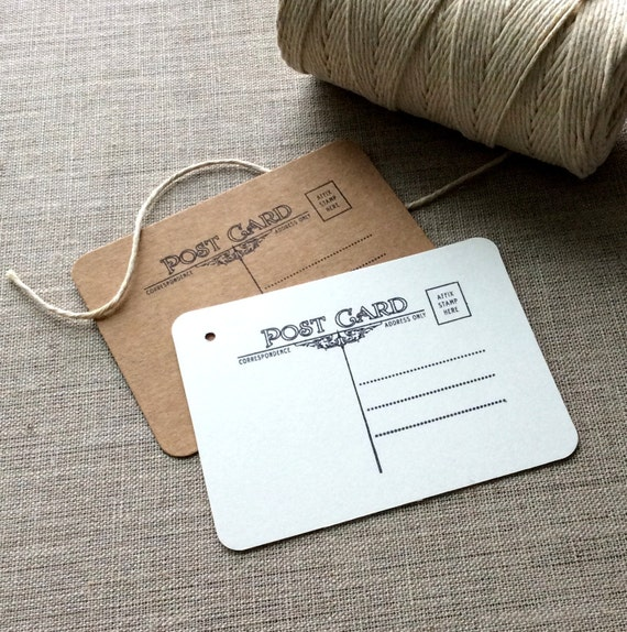 Wedding Gift Tags For Favors : postcard gift tags, Wedding Gift Tags, Wedding Favors, postcard favors ...