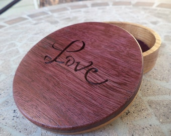 "Inspirational words jewelry box ""Love"""
