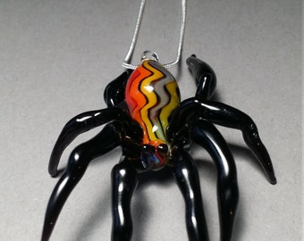 Creepy guy just hanging around Spider Pendant