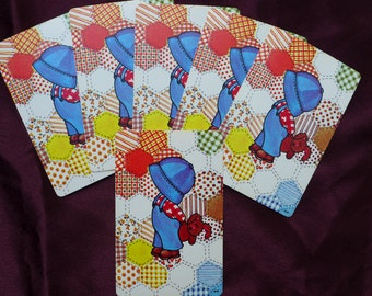 Little Blue Hat Country Boy Vintage Playing Cards