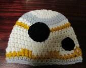 Baby Size Star Wars Style BB8 Beanie Hat BB 8