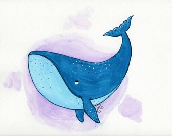 Whale of a good time painting