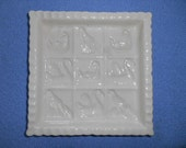 Vintage The 1869 Victorian Pottery Made in England Shortbread Cookie Mold