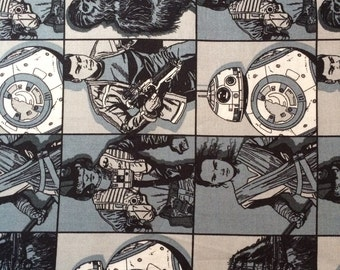 Star Wars The Force Awakens Heros Fabric By The Yard