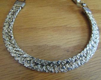 gold nugget bracelet