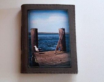 SALE seagull inspire journal - travel vacation journal - keep off dock