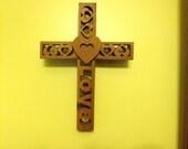 American Chestnut Love Cross