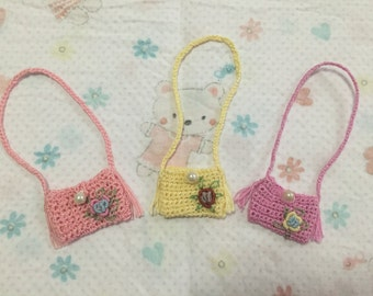 Previous Season Sale - Crochet bag for Blythe Doll