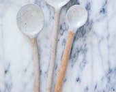 large LBM ceramic spoon