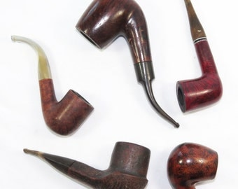 4 or 5 Smoking Pipes Calabresi Corsica Giants Butz Choquin Peterson Killarney Trident