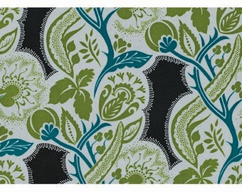 Anna Maria Horner Dowry Flourish in Twilight PWAH066 100% Quilters Cotton Available in Fat Quarter, Half Yard, Yard