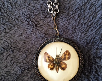 Vintage butterfly pendant