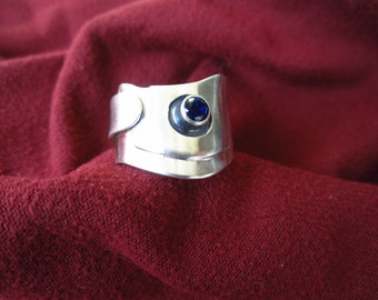 Sterling Silver Saphire Ring