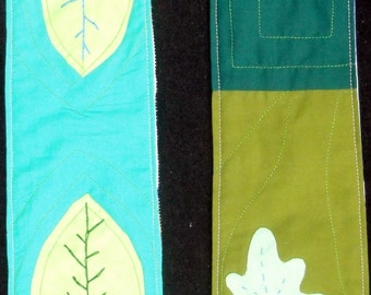 Reversible Modern Clergy Stole Green Ordinary Times White Wedding Baptism