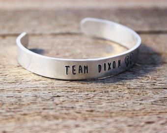 Cuff Bracelet - Team Dixon - The Walking Dead - Daryl Dixon