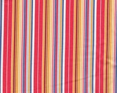 Moda Fabrics Ladies Stitching Club Bright Stripe - Half Yard