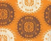 Free Spirit Fabrics Tina Givens Pernilla's Journey Tapestry in Carrot - Half Yard