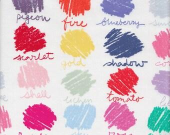 Dear Stella Designs Color Swatches in Multi - Half Yard