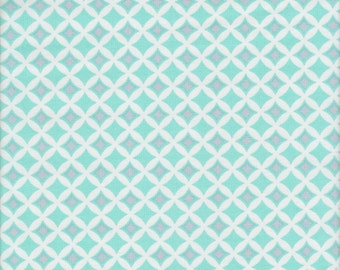 SALE - Free Spirit Fabrics Dena Designs McKenzie Gemstones in Aqua - End of Bolt - Last 35 Inches