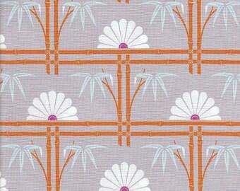 Free Spirit Fabrics Tanya Whelan Dolce Bamboo Garden in Gray - Half Yard