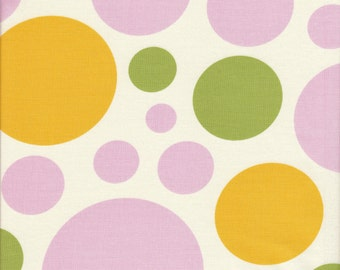Free Spirit Fabrics Heather Bailey Nicey Jane Dream Dot in Clementine - Half Yard