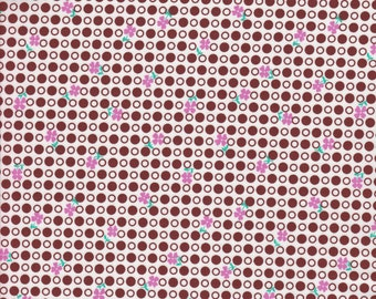 Free Spirit Fabrics Jennifer Paganelli So St. Croix Carla in Brown - Half Yard