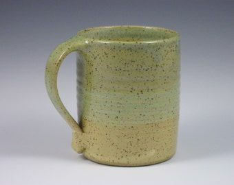 Matt Green Gold Large Mug