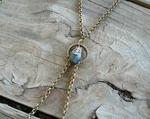 small druzy bead body chain // nickel free jewelry // body chain jewelry // body chain necklace // unique handmade jewelry // HEY178