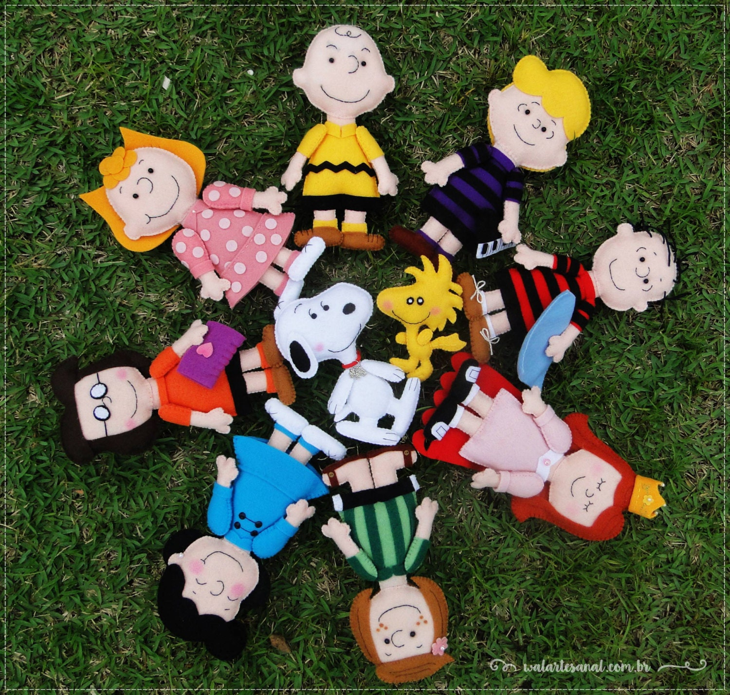 Peanuts Characters Clipart Il Fullxfull Pnx
