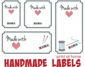 Made with Love Quilt Labels