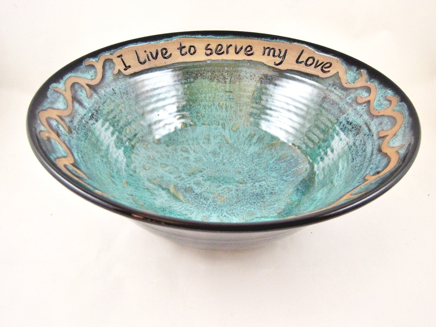 9th Anniversary Pottery For Wedding: Pottery Wedding Gift Handmade Pottery Bowl 9th Anniversary