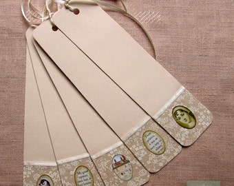 Bookmark Jane Austen (set of 5)
