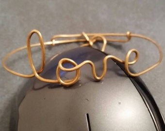 Love adjustable bracelet