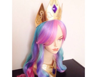 Princess Celestia My Little Pony Crown + Necklace SET