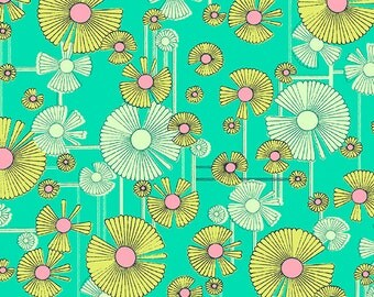 Amy Butler Windflower in Sea Glass for the Glow Collection